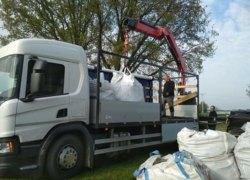 Kolejne tony niebezpiecznego azbestu opuściły teren naszej gminy.