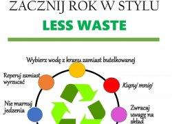 Zacznij rok w stylu Less Waste