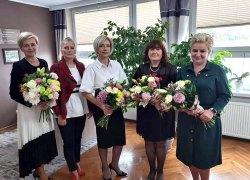 Spotkanie Burmistrz Gminy Koźminek z Dyrektorami Szkół z terenu Gminy Koźminek z okazji Dnia Edukacji Narodowej