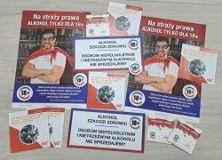 """Kampania edukacyjna """"Ogranicz dostępność alkoholu"""" wśród sprzedawców alkoholu na terenie gminy Koźminek"""