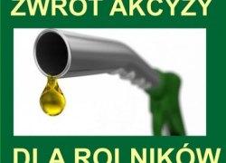 Kurenda w sprawie zwrotu podatku akcyzowego zawartego w cenie oleju napędowego
